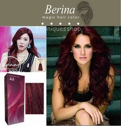 Berina Hair Color Cream is containing an innovative component which protects and provides glamorous color to hair as desired.