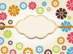 Vector Background With Flowers free