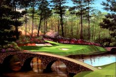 Augusta...The Masters. Hole 12. One day...I will play this hole.