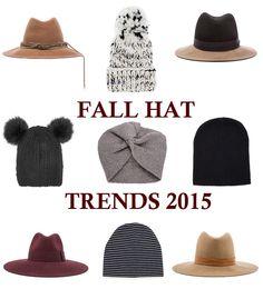 Editrix Picks: Fall Hats By The Style Editrix