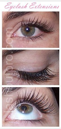 519eb948661 Individual eyelashes applied by professional open your eyes up... love them.