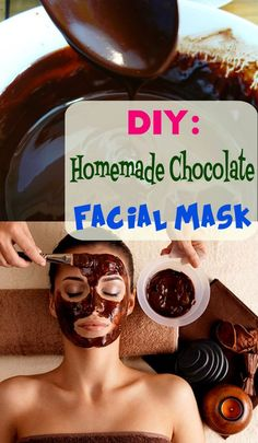 DIY homemade chocolate facial mask is ready to hydrate and moisturize your dry skin! Ingredients: 1 bar dark chocolate 1 cup milk 3 tbsp salt from Natural Skin Care Recipes Book Chocolate Facial, Chocolate Face Mask, Homemade Chocolate, Natural Beauty Tips, Natural Makeup, Natural Skin, Birthday Breakfast For Husband, Charcoal Mask Benefits, Diy Beauty Treatments