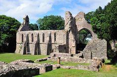 Grey Abbey, County Down, Ireland.
