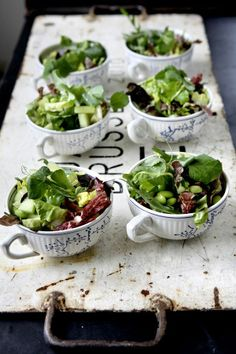 Fresh Wedding Details...Serving foods trends || The Dreamery