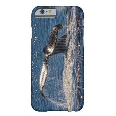 iPhone 6 case which features a humpback whale displaying its huge tail fluke off the waters of Surfers Paradise, Australia during its annual migration. #whale #whales #humpback #humpbacks #nature #wildlife #humpbackwhale #tailfluke #ocean #sea