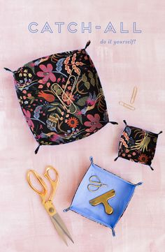 DIY catch all – The House That Lars Built DIY catch all A DIY Catch All to keep your crafty things at hand! We use these on the everyday at Lars. Arts And Crafts Kits, Arts And Crafts For Teens, Diy Projects To Try, Sewing Projects, Craft Projects, Craft Jobs, Advent Calendars For Kids, Cheap Christmas Gifts, Idee Diy