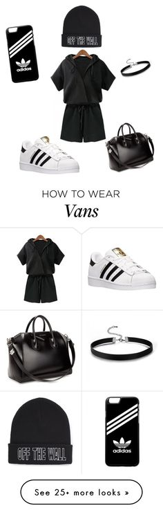 """""""Untitled #13"""" by mm71028 on Polyvore featuring adidas, Givenchy and Vans"""