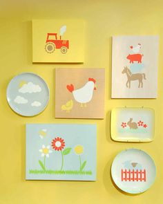 "Learn how to stencil anywhere -- on a wood panel, a pillow cover, or a ceramic plate -- with Martha Stewart Crafts products on ""The Martha Stewart Show."""