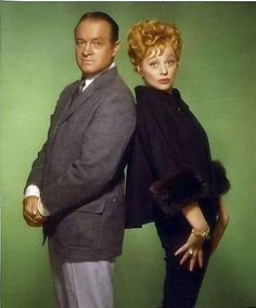 Lucy and Bob Hope