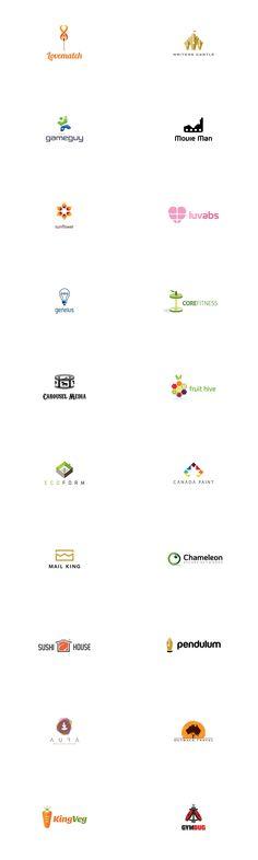 A collection of 20 creative logos and brandmarks. Graphic designer Ian O'Hanlon of square69, a Most na Soci, Slovenia based design and branding studio rece