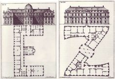 Johann David Steingruber fulfilled his literary ambitions on a drafting table — his Architectural Alphabet (1773) renders each letter of the alphabet as the floor plan of a palace.