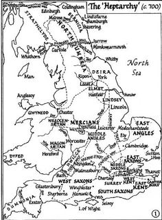 Age of Heroes – Establishing Hierarchy, Elbowing the Opposition. Angles, Jutes and Saxons Vie for Overlordship The Heptarchy, c. The early kingdoms of the Angles and Saxons. History Of England, Uk History, Asian History, British History, History Facts, Scotland History, History Education, Strange History, Tudor History