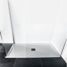 The ultimate modern low profile polished stone resin rectangle shower tray 1700 x 700 x 25mm - Showers from Lusso Stone UK