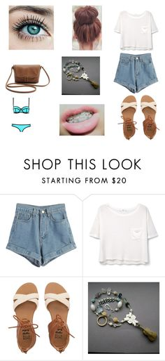 """""""Beach"""" by evelyn-mendoza-1 on Polyvore featuring moda, WithChic, MANGO, Billabong y Milly"""