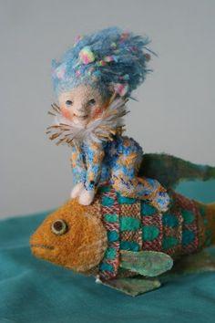Yoo Moo, Japanese felted doll artist:
