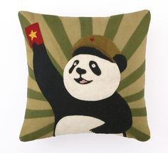 People's Panda Pillow