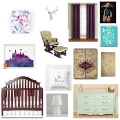 Girly Harry Potter nursery