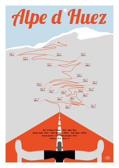 Alpe d Huez Tour de France print, bike poster Present for men, Present for women Poster Alpe d Huez Fahrrad Plakat Tour de FranceTap the link to check out great drones and drone accessories. Sales happening all the time so check back often! Cycling Art, Road Cycling, Cycling Bikes, Bike Poster, A4 Poster, Mountain Bicycle, Mountain Biking, Alpe D Huez, Pure Fun