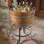 beverage bucket stepped up several notches Wine Tasting Party, Tasting Table, Drink Stand, Ice Chest Cooler, Beverage Tub, Outdoor Supplies, Wine Decor, Drink Dispenser, Fine Wine