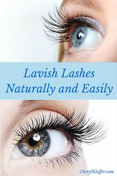 How to thicken and lengthen eyelashes naturally