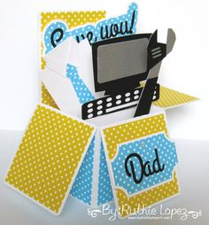 Snapdragon Snippets - Father's Day Box Card #svgattic