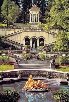 Linderhof, Germany; 10/77 - Frances - Picasa Web Albums Been there with Nebraskats Tour in college, loved it!