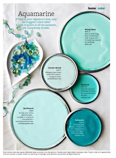 Coastal Paint Color Schemes Inspired from the Beach Gardens