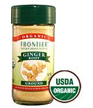 Frontier Organic Ground Ginger Root