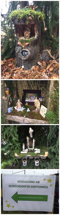 Very cool & nicely done geocache that looks like it has a Christmas theme.  This took some work & would be fun to find.  (pics from Twitter stitched together & pinned to Christmas Geocaching - https://www.pinterest.com/islandbuttons/christmas-geocaching/) #IBGCp