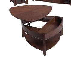Progressive Furniture P Sebring Contemporary Castered Double - Double lift top cocktail table