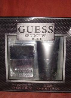 À vendre sur #vintedfrance ! http://www.vinted.fr/mode-hommes/parfums/42909475-coffret-parfum-guess-seductive-homme
