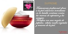 Nuestra nueva Crema Antiedad de Supreme ha sido una de las nominadas por los Cosmopolitan Awards Beauty 2014. ¡Orgullosos! con @PremierESP #ProductosPremier #Antiedad #Crema