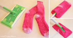 She Cuts Her Old Sock In Half – The Reason Why Is Genius!