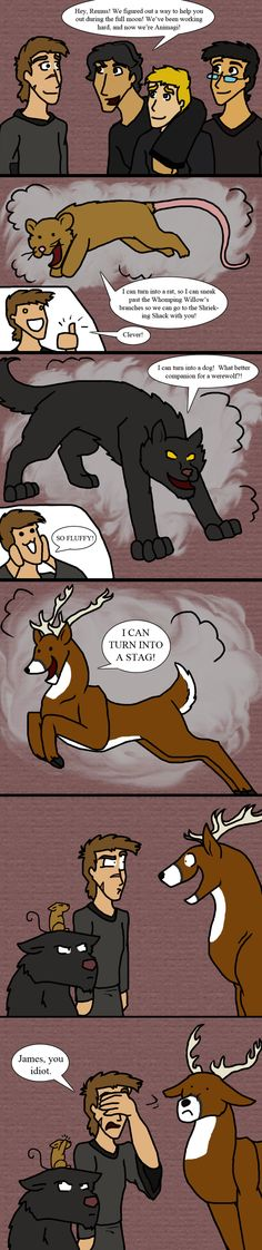 What Were You Thinking? by IchikoWindGryphon.deviantart.com on @deviantART ____ I love the stupid-ass grin on James' face in the second-to-last panel.