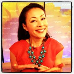 Check out Ann's pretty necklace from this morning.(Yosef Herzog / TODAY)