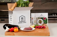 Home Chef fresh ingredient deliveries.  Less prep & more fun!  #homechef #homechef #easy #simple #easyrecipe #simplerecipe #fresh