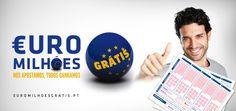 Bet play in EuroMillions for free  http://euromilhoesgratis.pt/users/login/r:paulorebelo