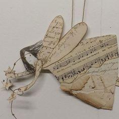 Paper angels | Caroline Zoob