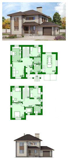 Ev villa projesi 185-004-R | House Expert