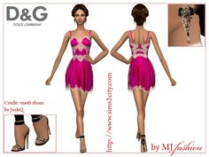 Sims2City: D&G.Summer 2016:Pajama Party