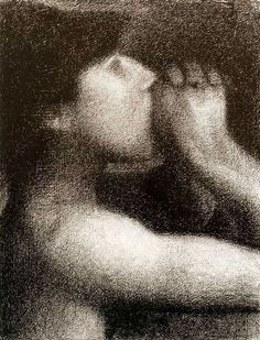 Georges-Pierre Seurat Georges Seurat, Moma, Insomnia, Drawings, Crayons, Instagram, Pencil, Collage, Paintings