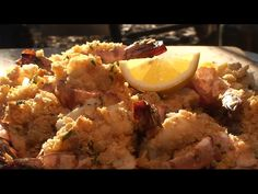 Shrimp with Scallop Butter Stuffing recipe by the BBQ Pit Boys