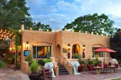 3 Hotels That Make Us Want to Redecorate | The Inn of the Five Graces, Sante Fe: Proving that pattern on pattern is always a good thing, we're in awe of the gorgeous mixing of lush textiles at this Sante Fe gem. The hotel is actually a collection of adobe buildings with mud walls, but the ultra-luxe feeling you get when looking at the interior blend of Native American, Moroccan and Spanish influences will lead you to forget where you actually are.