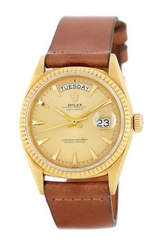 HauteLook | Vintage Watches: Rolex, Hermes & More: Rolex Men's/Unisex Day-Date 18K Yellow Gold Watch