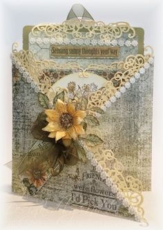 Heartfelt Creations Tag Card (Nikki's Crafting Creations)