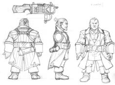 Varric from DA2 by Ignifero on DeviantArt