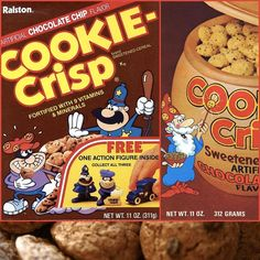 Cookie Crisp Cereal « Kid of the 80s.com: Reliving My Childhood ...