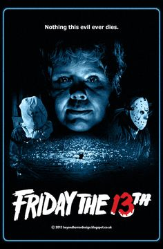Friday the 13th - can't believe I've never watched this. Setting things straight before the wedding as my fiancé said he couldn't marry me if I hadn't seen them all. Think he forgets I'm younger than him sometimes.