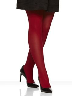 19 Pairs Of Plus-Size Tights That People Actually Swear By