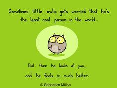 Thankful Owlie - Sebastien Millon